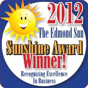 Edmond Sun Sunshine Award 2012