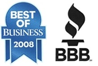 Better Business Bureau and Best of Business 2008