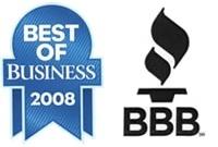 Better Business Bureau and Best of Business 2008